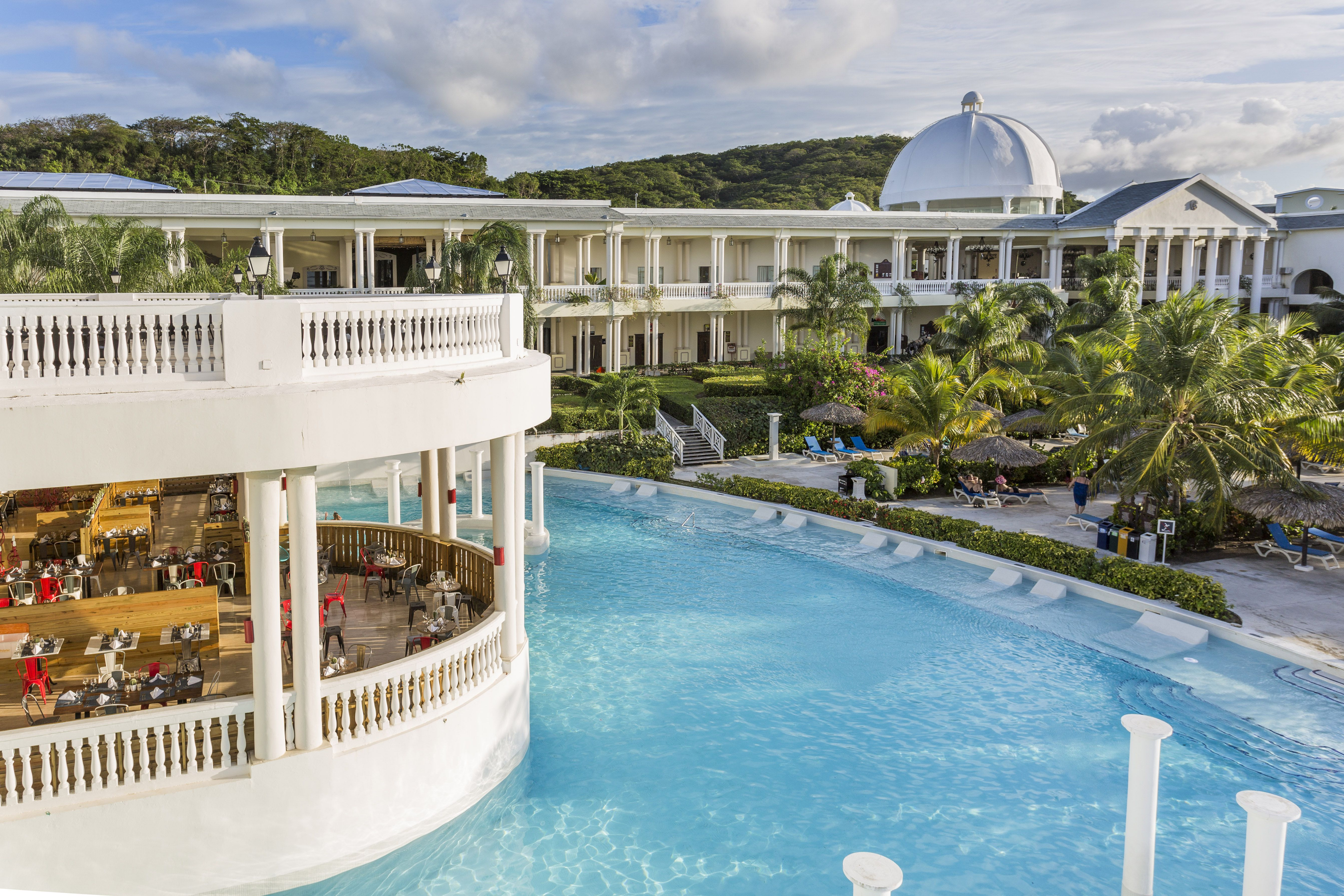 Grand Palladium Lady Hamilton Pool Best Jamaica All Inclusive Beach Resorts