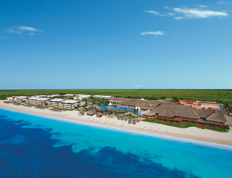 Now Sapphire Riviera Cancun Aerial
