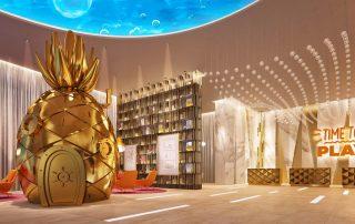 Nickelodeon Riviera Maya lobby