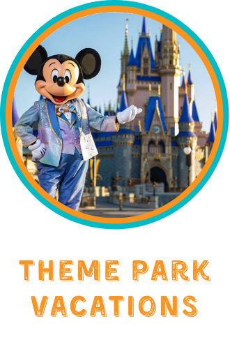 Theme Park Vacations, disney family vacations, universal family vacations