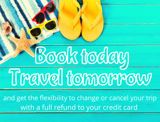 Book your family vacation with flexibility!
